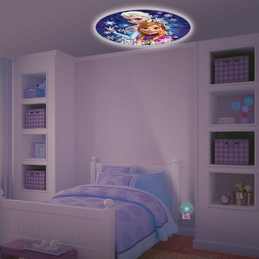 Home Kids Bedroom Disney Frozen Projectable Led Plug In