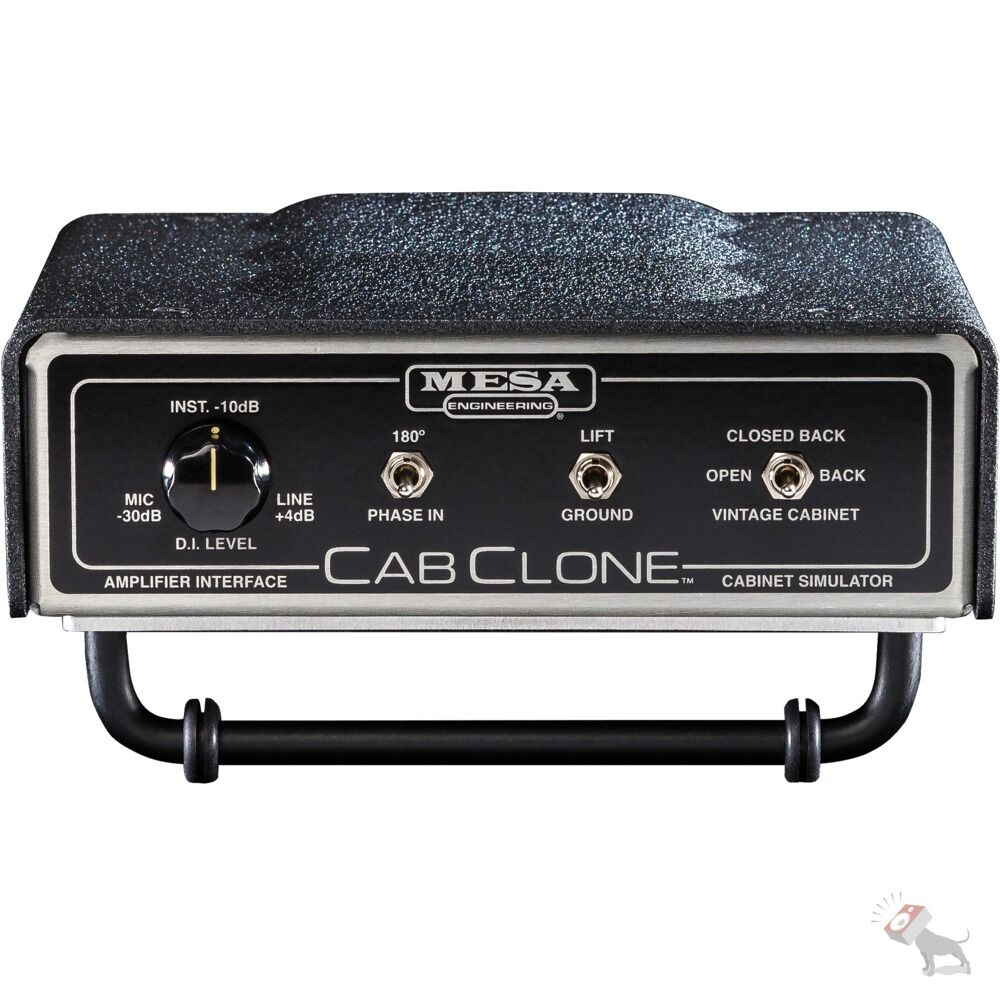 mesa boogie amplifiers cabclone 16 ohm guitar cabinet simulator headphone output ebay. Black Bedroom Furniture Sets. Home Design Ideas