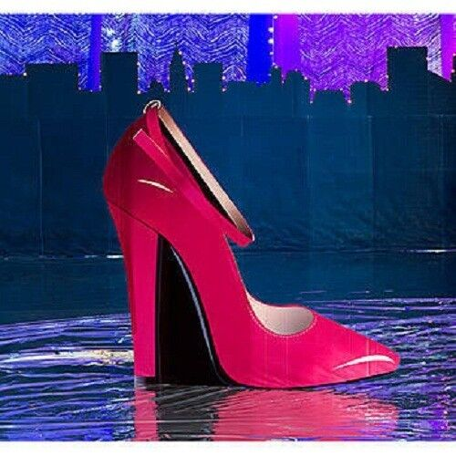 Pink high heel standee shoe bachelorette party