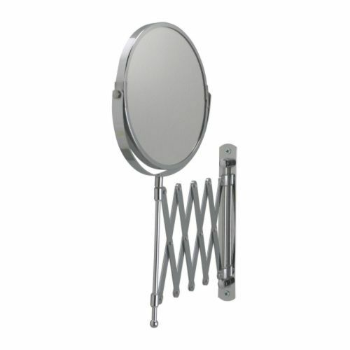 Ikea Wall Mount Shaving Make Up Bath Bathroom Magnifying Mirror Stainless Steel Ebay