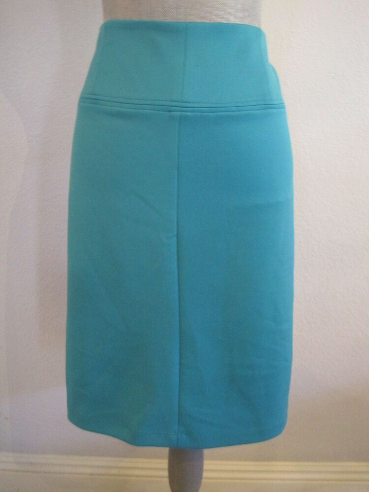 nwt martin teal blue below knee length career
