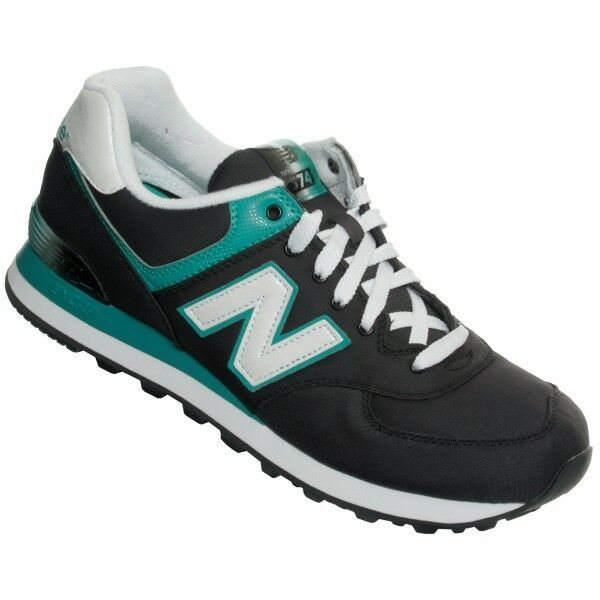 Mens New Balance Alpine 574 Black Trainers Shoes ML574APK  eBay