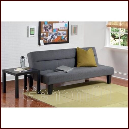 Microfiber Futon Sofa Guest Sleeper Bed Couch Living Room