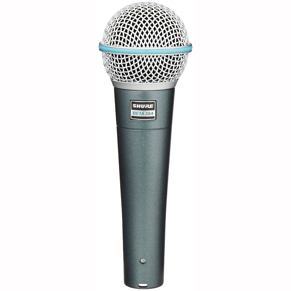 shure beta 58a handheld live stage studio recording dynamic mic vocal microphone 42406054720 ebay. Black Bedroom Furniture Sets. Home Design Ideas