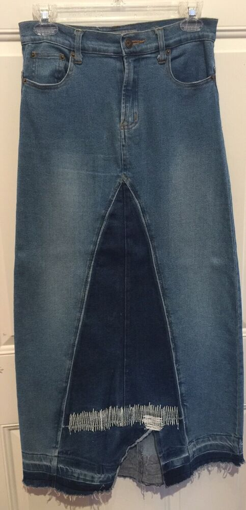 long vintage denim jean - photo #22