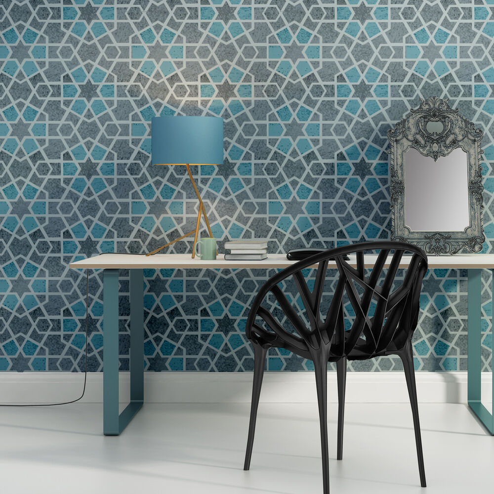 Geometric Wall Stencil Paige For Diy Project Home Decor