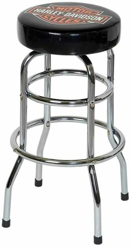 New Harley Davidson Motorcycle Barstool Street Glide Shop Hd Bar Stool Worldship Ebay