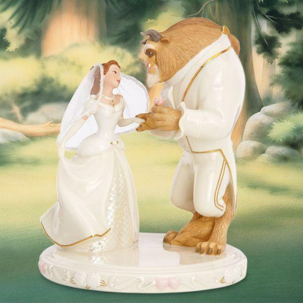 Beauty And The Prince Wedding Cake Topper