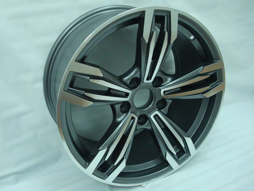 """Bmw 3 0 Csl >> 18"""" BMF Staggered Wheels Rims Fit BMW 5 Series 2004 - 2010 ..."""