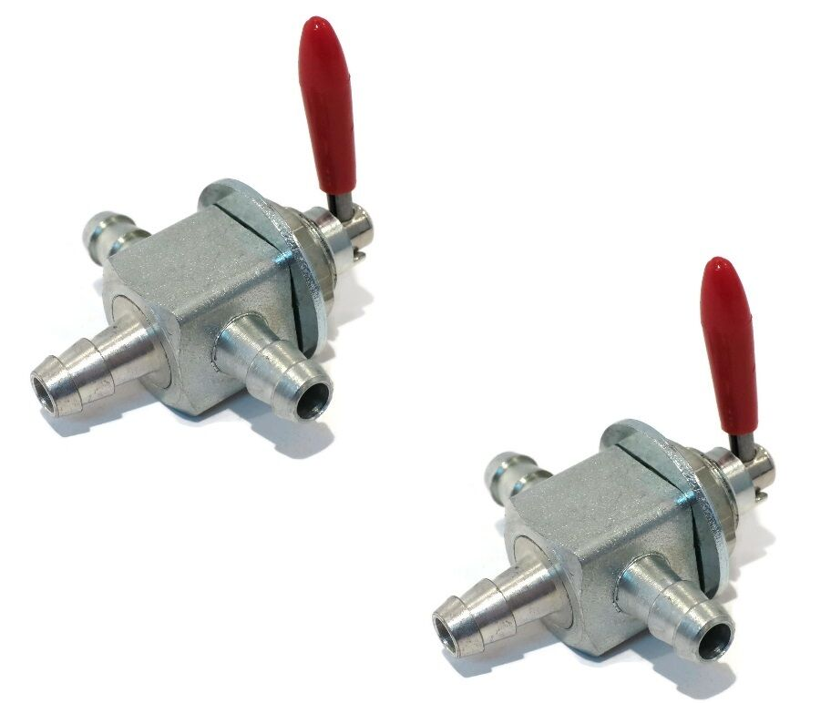 2 Two Way Fuel Gas Cut Off Valves For Exmark 1 633347