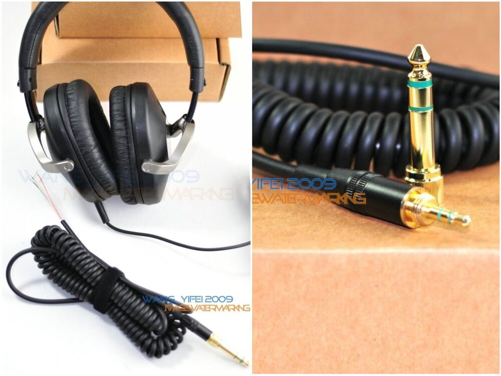 replacement dj headphone cable wire for sony mdr zx 500 700 701 headphones ebay