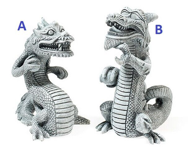 Japanese balinese chinese dragon aquarium ornament fish for Japanese fish decoration