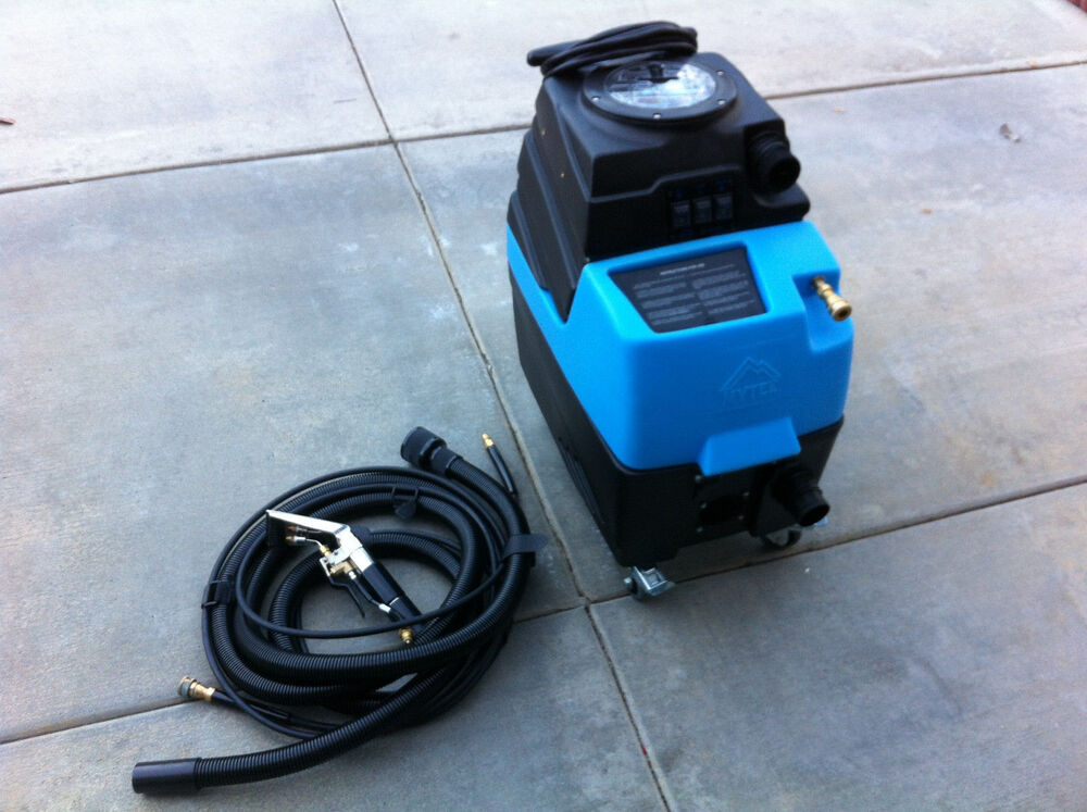 commercial portable carpet car cleaning machine w hot water extractor ebay. Black Bedroom Furniture Sets. Home Design Ideas