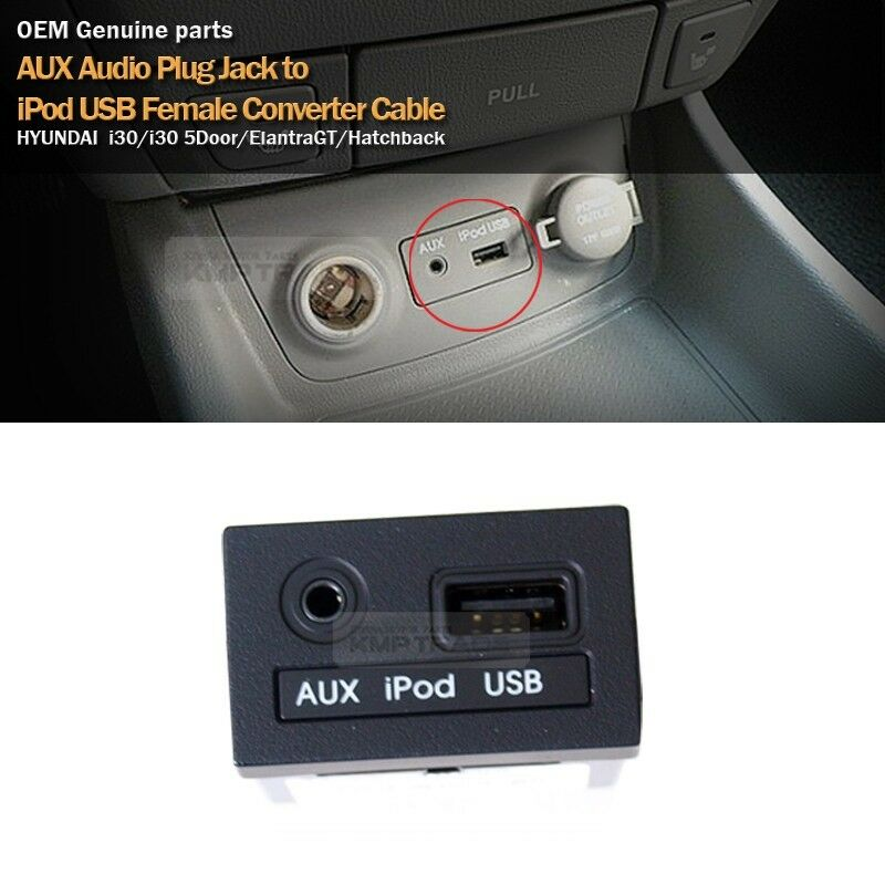 Oem Usb Reader Ipod Aux Port Adapter For Hyundai 2012 2013