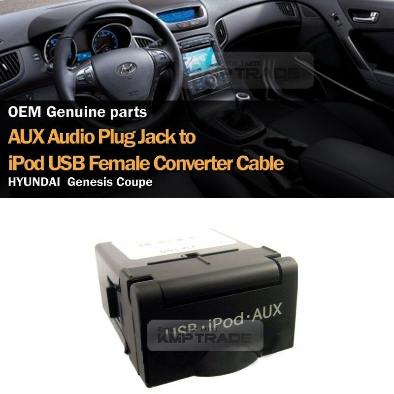 Oem Genuine Usb Reader Ipod Aux Port Adapter For Hyundai: OEM USB Reader IPod AUX Port Adapter Socket Tray For