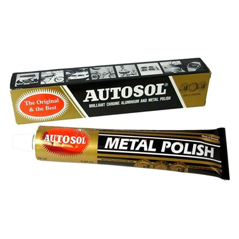 solvol autosol chrome aluminium and metal polish 75ml. Black Bedroom Furniture Sets. Home Design Ideas