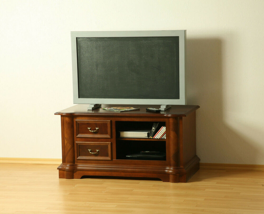 tv m bel tv schrank fernsehschrank kommode tv board massivholz antik ebay. Black Bedroom Furniture Sets. Home Design Ideas