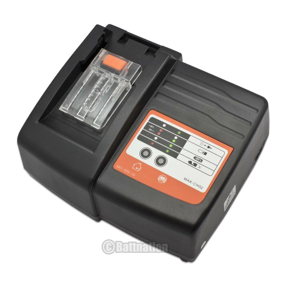 New Lithium Ion Battery Charger For Makita Bl1830 Bl1840 Bl1815 18v Power Tool Ebay