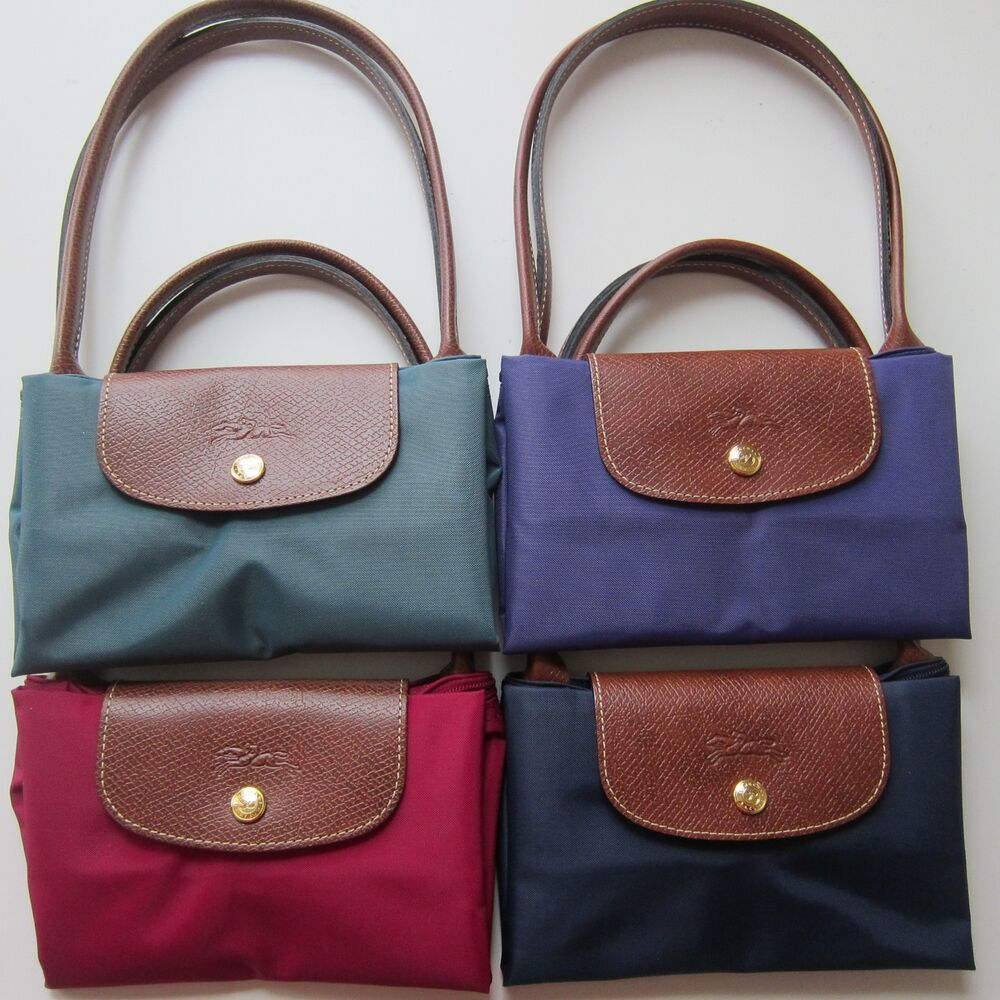 Longchamp Bag Le Pliage Colours : Longchamp le pliage long handle medium small shoulder