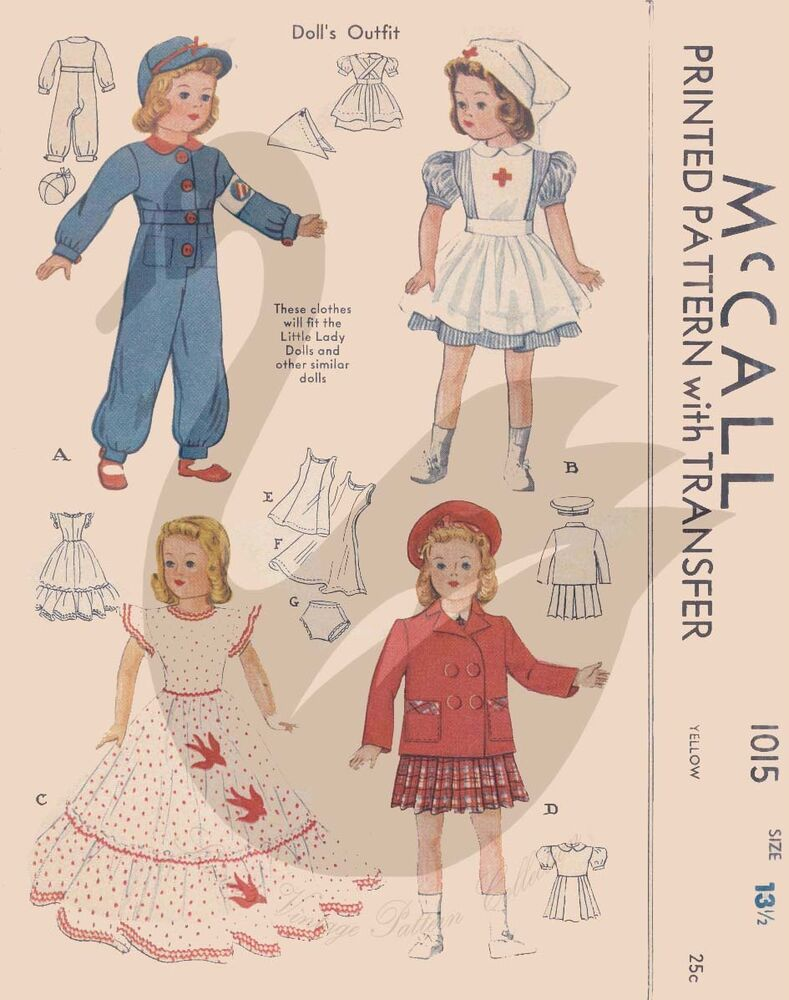 reproduction vintage shirley temple dolls clothes sewing