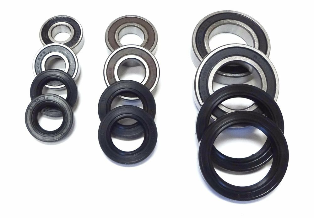 service manual front axle wheel bearing seal can am. Black Bedroom Furniture Sets. Home Design Ideas