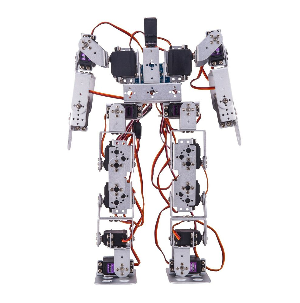 Dof robot set with servo arduino controllable from