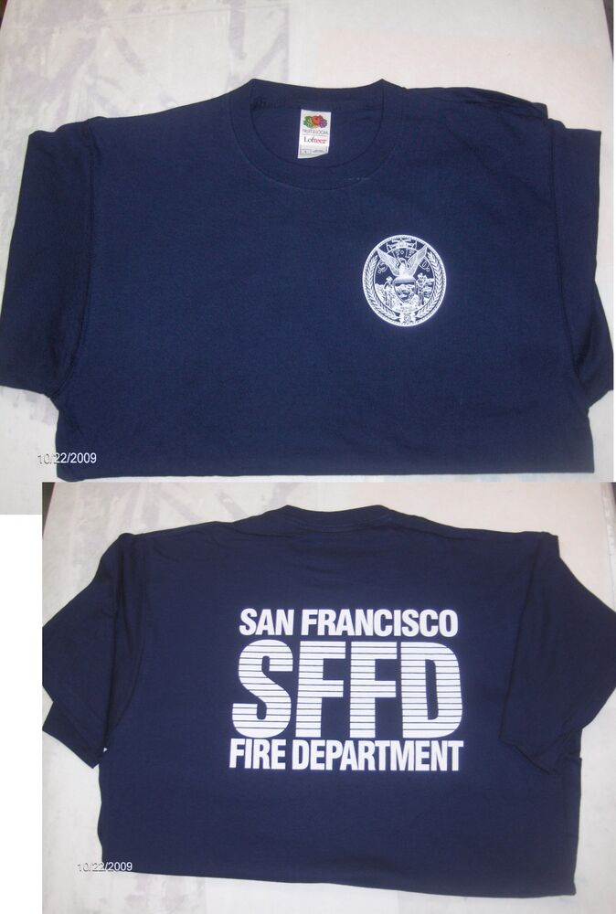 San Francisco Fire Department T-Shirts | EBay