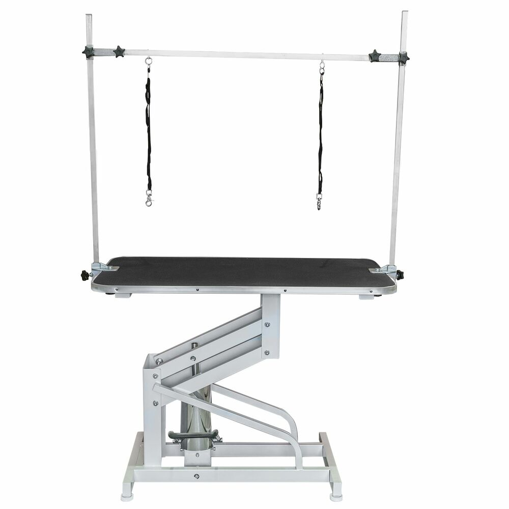 Large Professional Hydraulic Dog Grooming Table With Arm