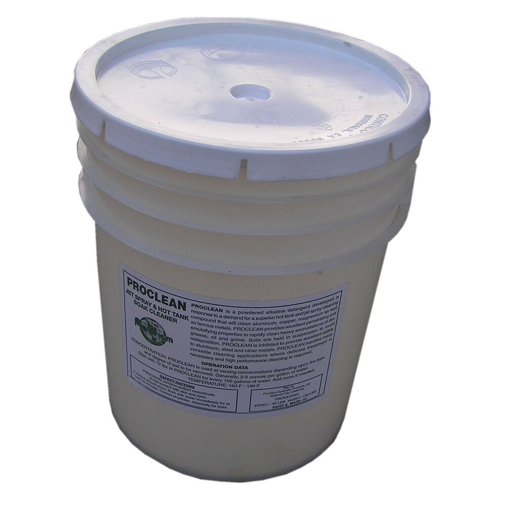 40lb Soap Detergent For Spray Wash Cabinet Part Washer