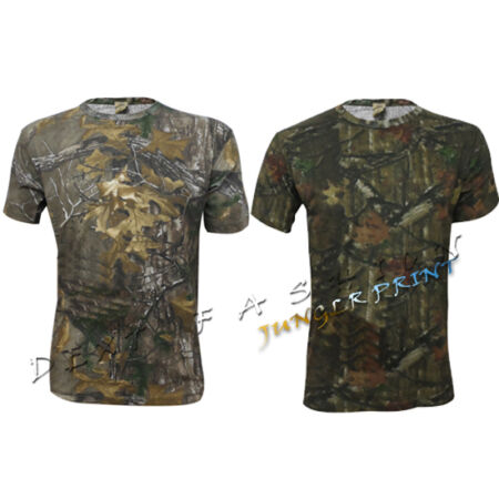 img-MENS SUMMER JUNGLE TREE PRINT PLUS SIZES CASUAL TOP T-SHIRTS SIZES S - 2XL
