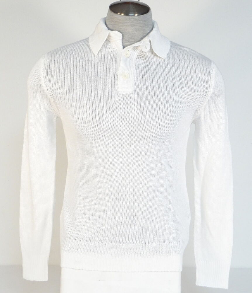 polo ralph lauren white 100 linen pullover sweater mens. Black Bedroom Furniture Sets. Home Design Ideas