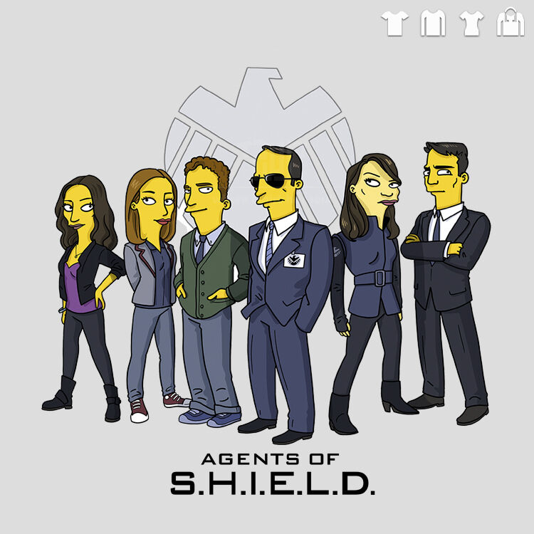 agent of shield free colouring pages Blank Logo Outlines Blank Logo Outlines