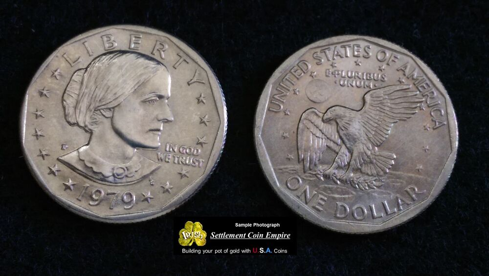 1979 P Susan B Anthony Dollar Roll 25 Ct Uncirculated Coins From Mint Bag Ebay