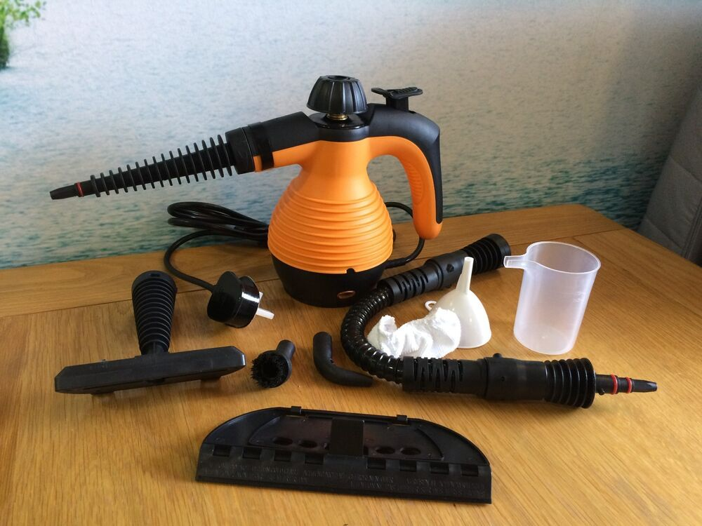 Electric Power Steamer ~ Electric steam cleaner portable hand held powerfull with