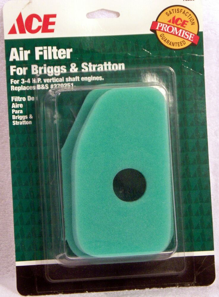 Briggs Amp Stratton Lawn Mower Air Filter 270271 From Ace