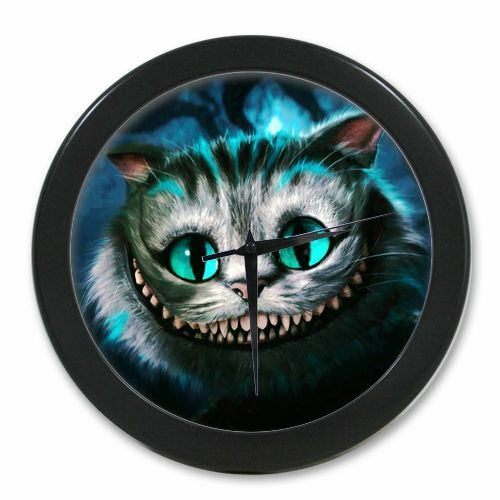 Home Decor Alice In Wonderland Cheshire Cat Digital Quartz