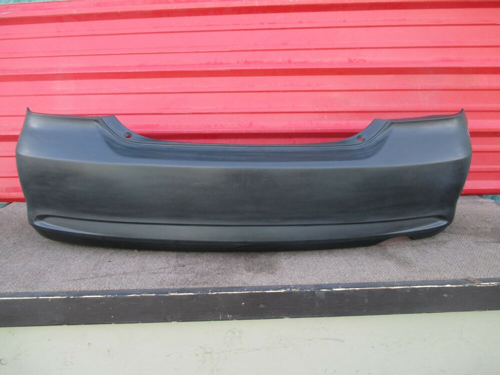 scion tc rear bumper cover oem 2005 2006 2007 2008 2009. Black Bedroom Furniture Sets. Home Design Ideas
