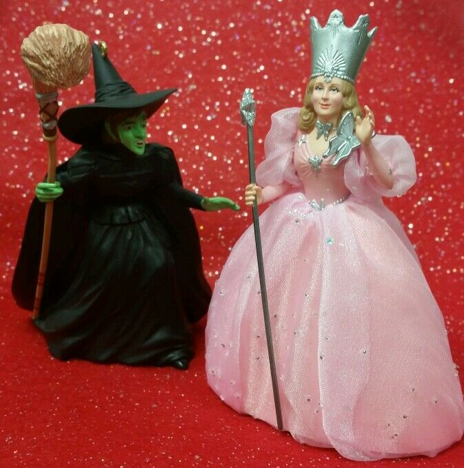 Wizard of Oz Christmas Ornaments (2) * Hallmark * Glinda ...