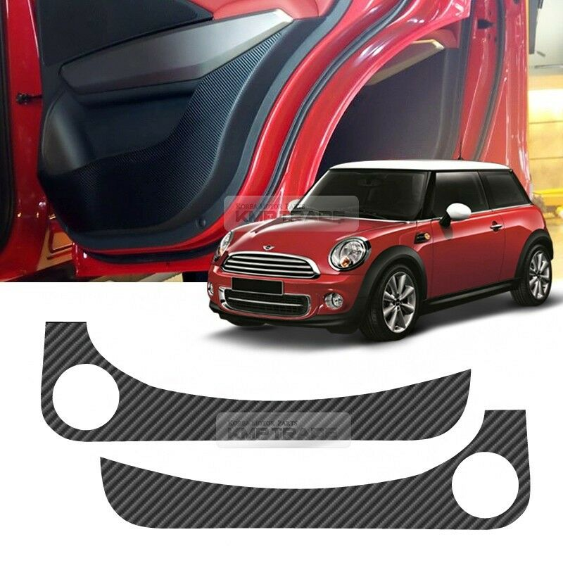 Carbon Door Inside Sticker Scratch Protector For Bmw 2006 2014 Mini Cooper R56 Ebay