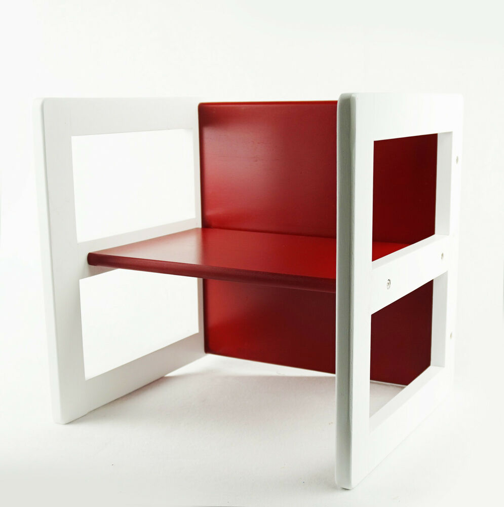 micasa tisch stuhl kinderzimmer rot 3 teilig ebay. Black Bedroom Furniture Sets. Home Design Ideas