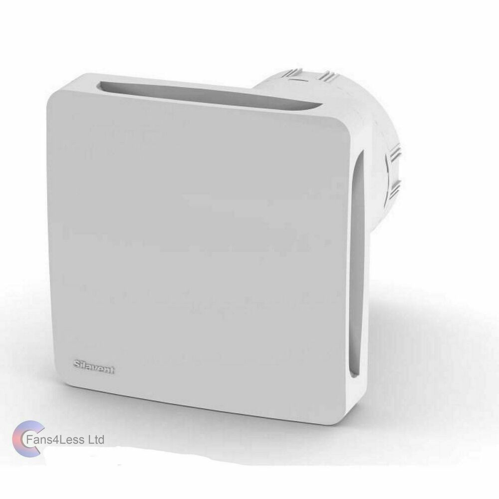 Silavent Domus Stf100 4 Extractor Bathroom Fan Std Timer Pull Cord Humidity Ebay