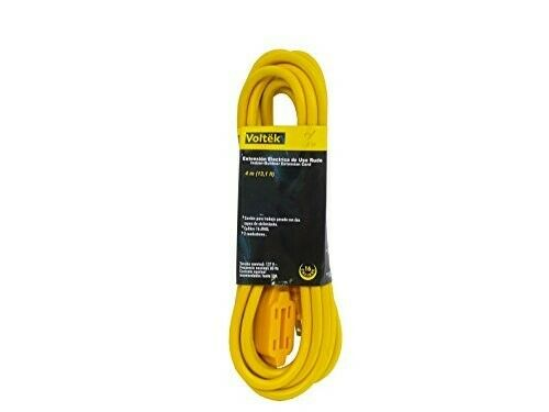 13 1 Feet 4meter Extension Cord Cable 16 Gauge Awg Heavy