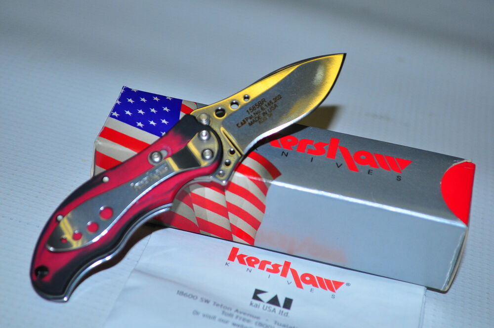Kershaw 1585br Baby Boa Assisted Opening Knife Early