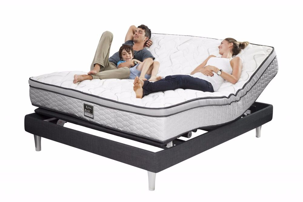 New Queen Electric Adjustable Bed Also Long Single