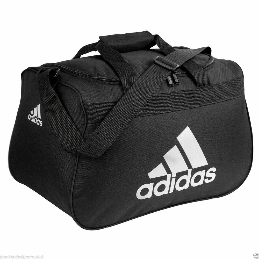nwt adidas diablo small duffel bag sport gym travel carry. Black Bedroom Furniture Sets. Home Design Ideas