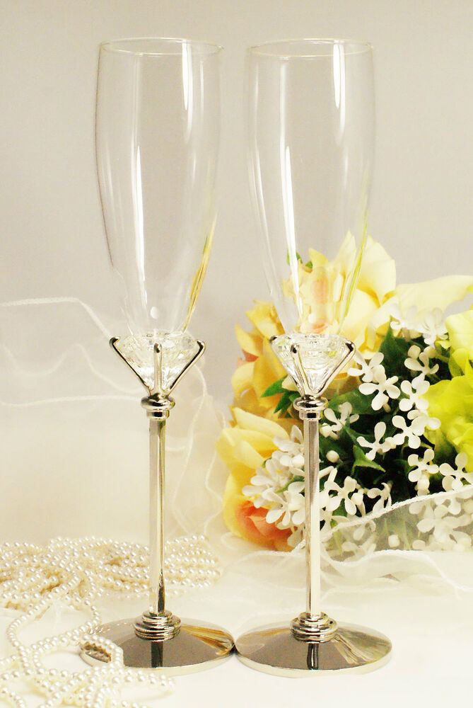 personalized wedding toasting flutes champagne sets anniversary