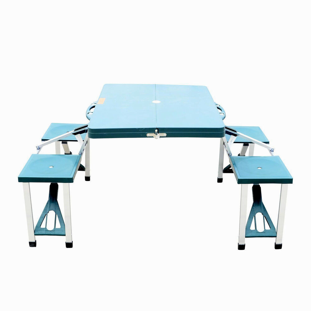 Picnic Table Portable Folding Camping Outdoor Garden Yard