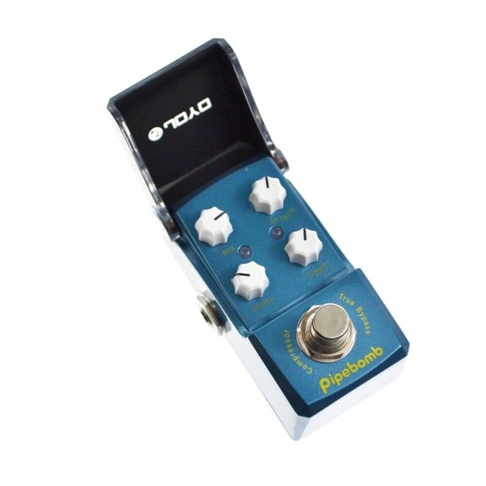 joyo jf 312 pipe bomb compressor ironman mini guitar effects true bypass pedal 6943206703129 ebay. Black Bedroom Furniture Sets. Home Design Ideas