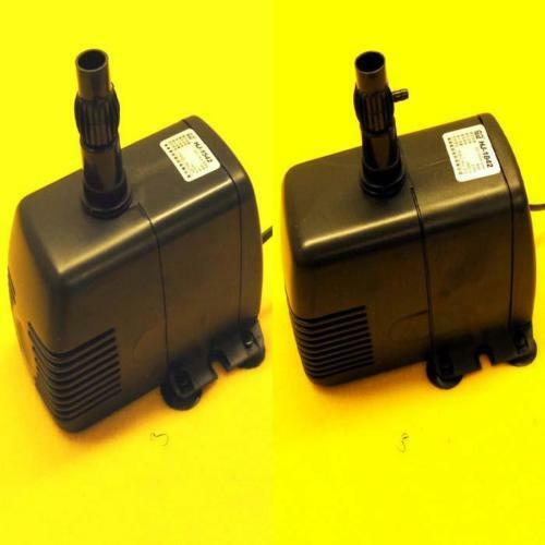 370 476 gph submersible pump aquarium fish tank fountain for Fish tank water pump