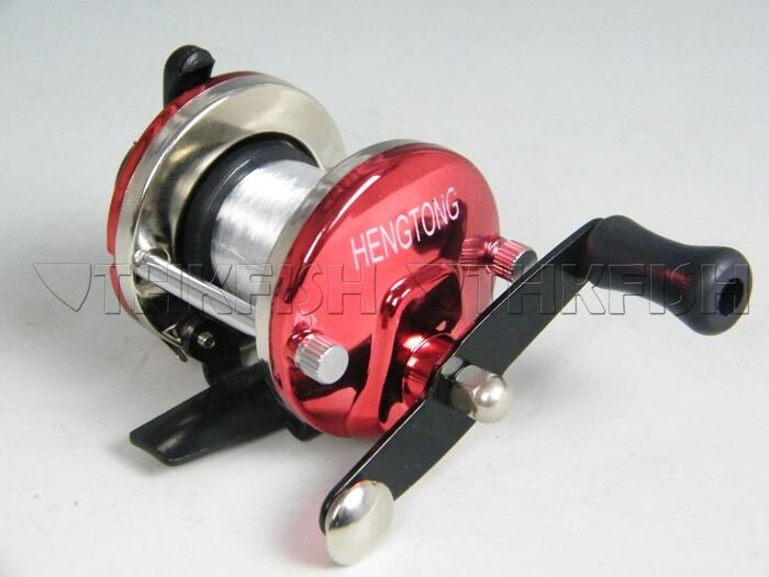 Sale mini bait casting cast baitcasting fishing reel for Best fishing line for spinning reels